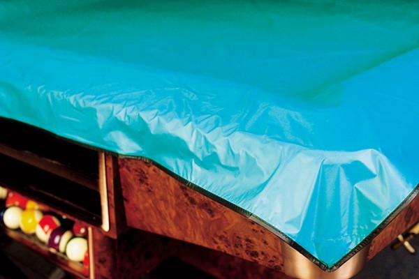 VINYL POOL TABLE COVER WITH ELASTIC BINDING