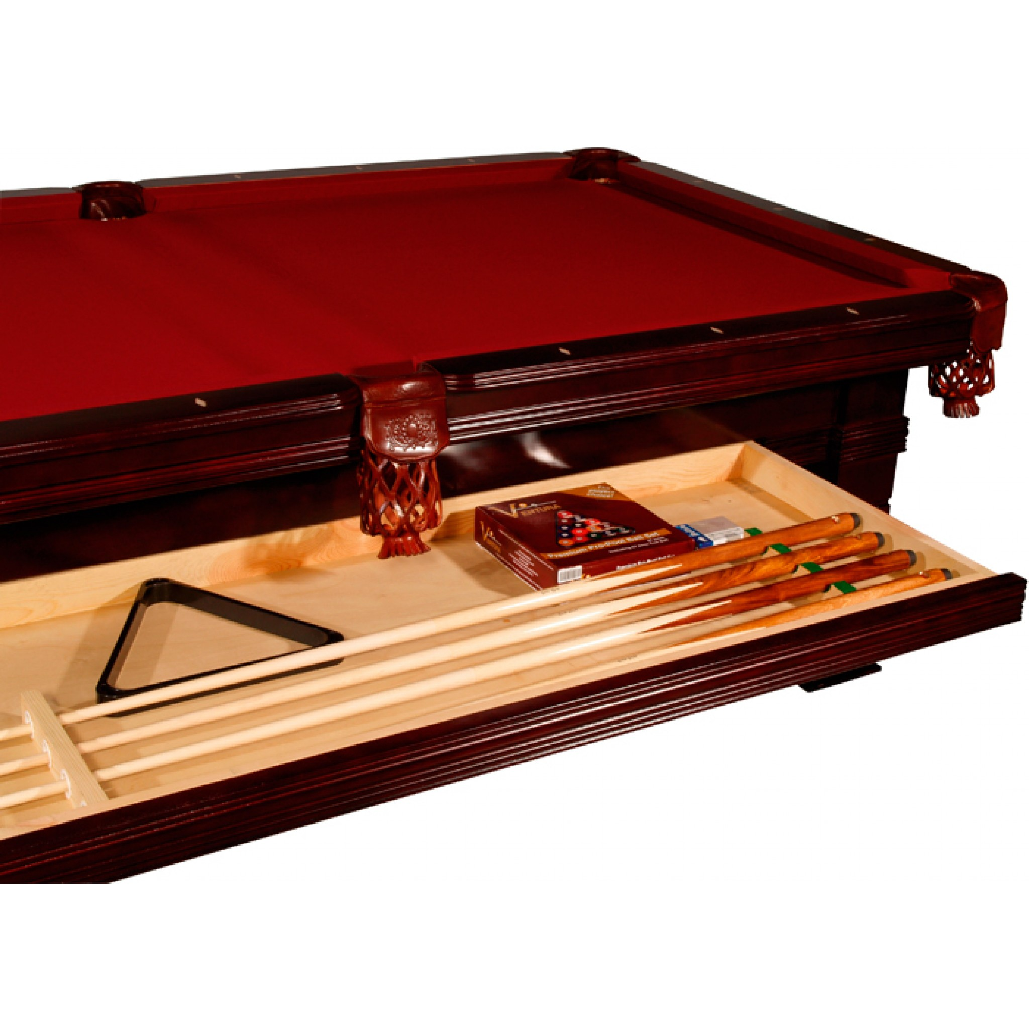 Brunswick 8ft Pool Table The timeless design of the Buffalo Riva pool table manages to convey ...