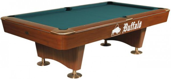 BUFFALO DOMINATOR POOL TABLE BROWN