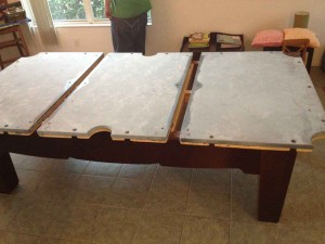 Billiard Table installation.. Antique to modern styles, we install and service all types of billiard tables...
