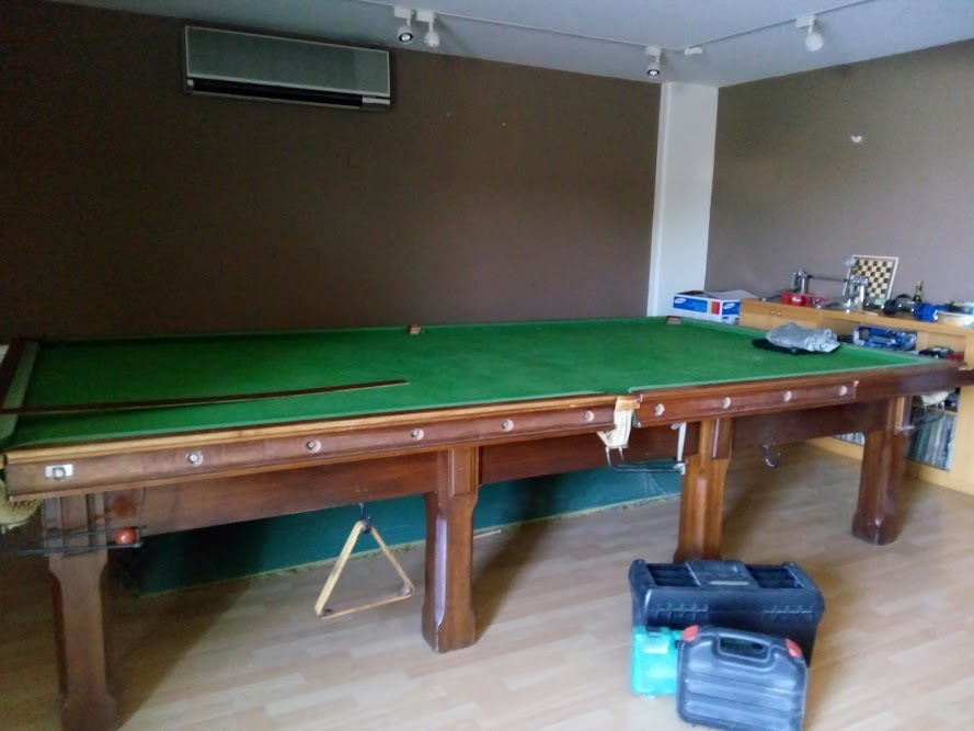 Ft BCE Snooker Table - Pool table description
