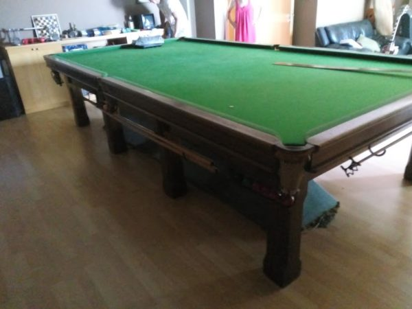 12ft BCE Snooker Table