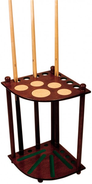Economy Corner Cue Stand for 8 Cues