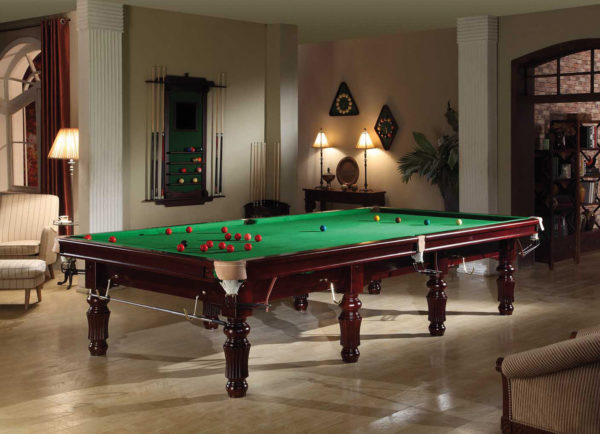 Buffalo Snooker Table Mahogany
